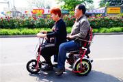 Электротрицикл 48 v 450w  трехколёсный,  складной.
