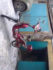 Электро скутер б/у в отличном состоянии.